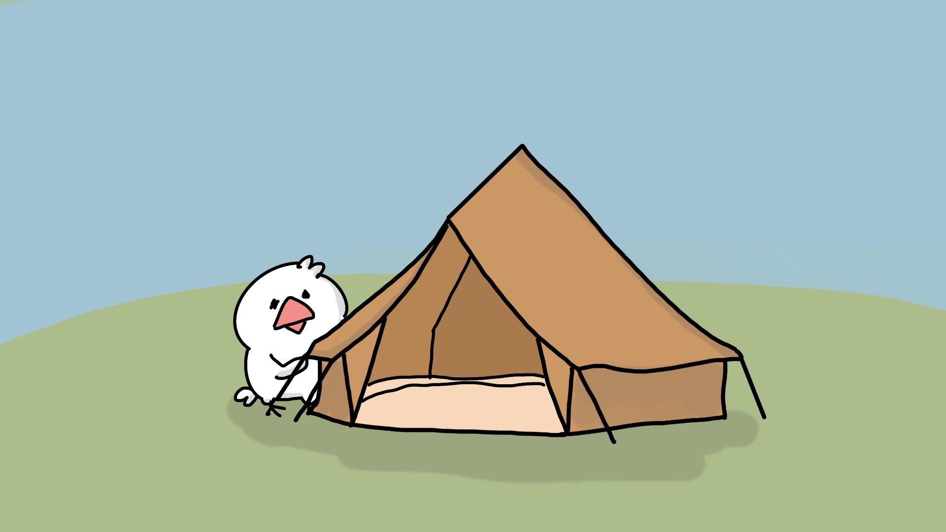 キャンプをしてみたい!
